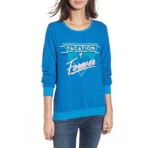 Wildfox dream scene vacation forever sweatshirt